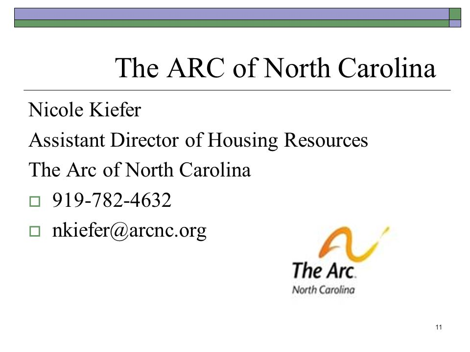 The ARC of North Carolina