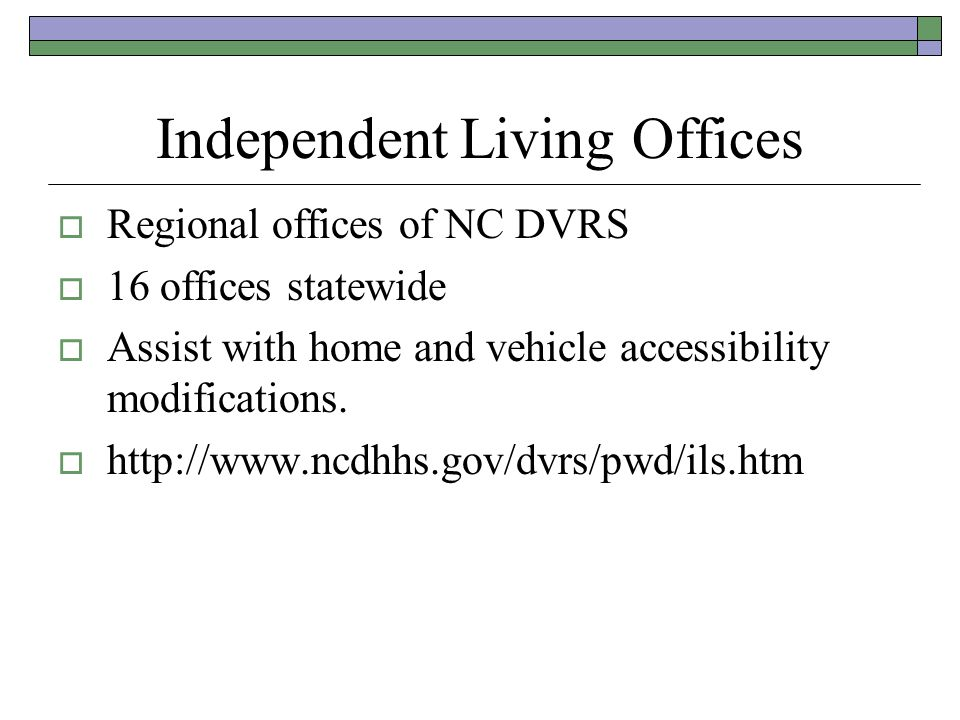 Independent Living Offices
