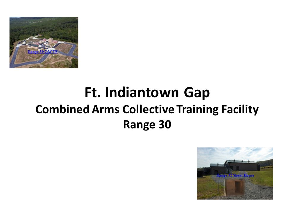 Combined Arms Collective Training Facility
