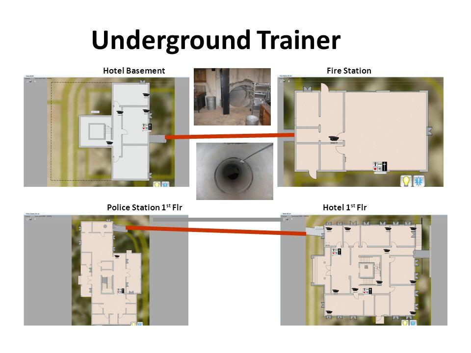 Underground Trainer Hotel Basement Fire Station Police Station 1st Flr