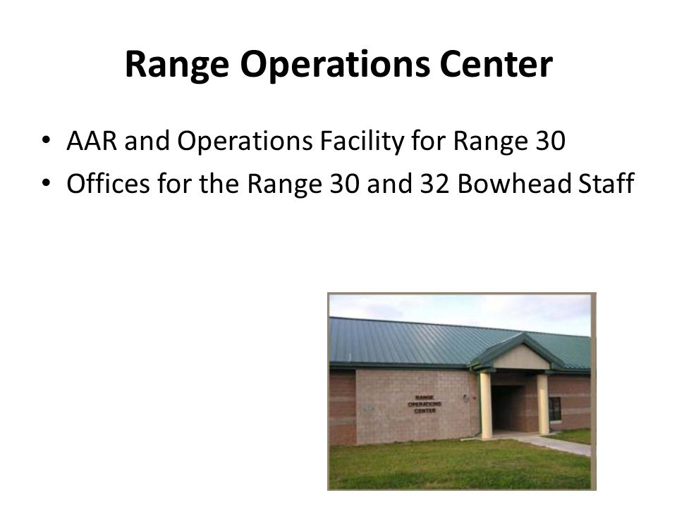 Range Operations Center
