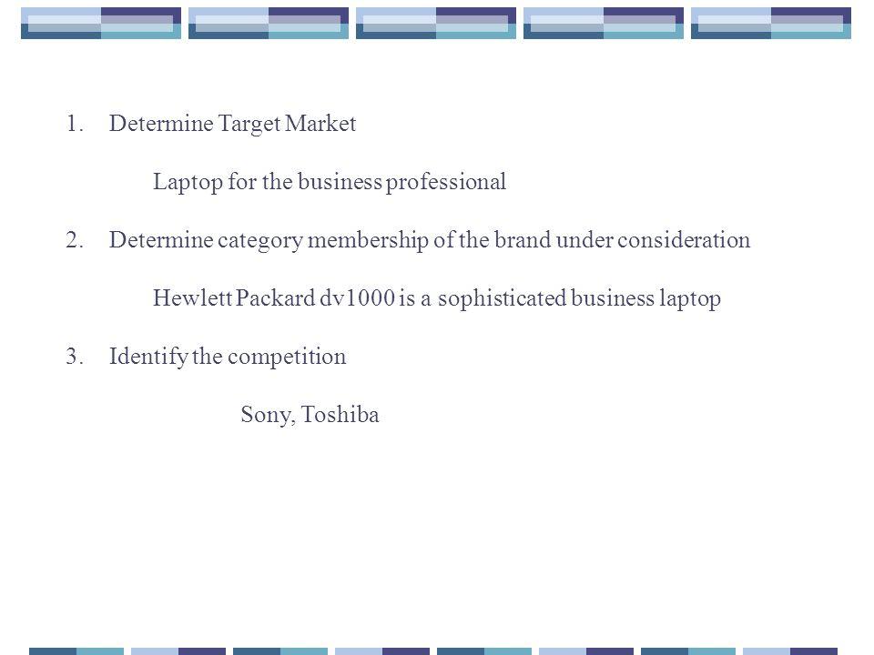 Determine Target Market