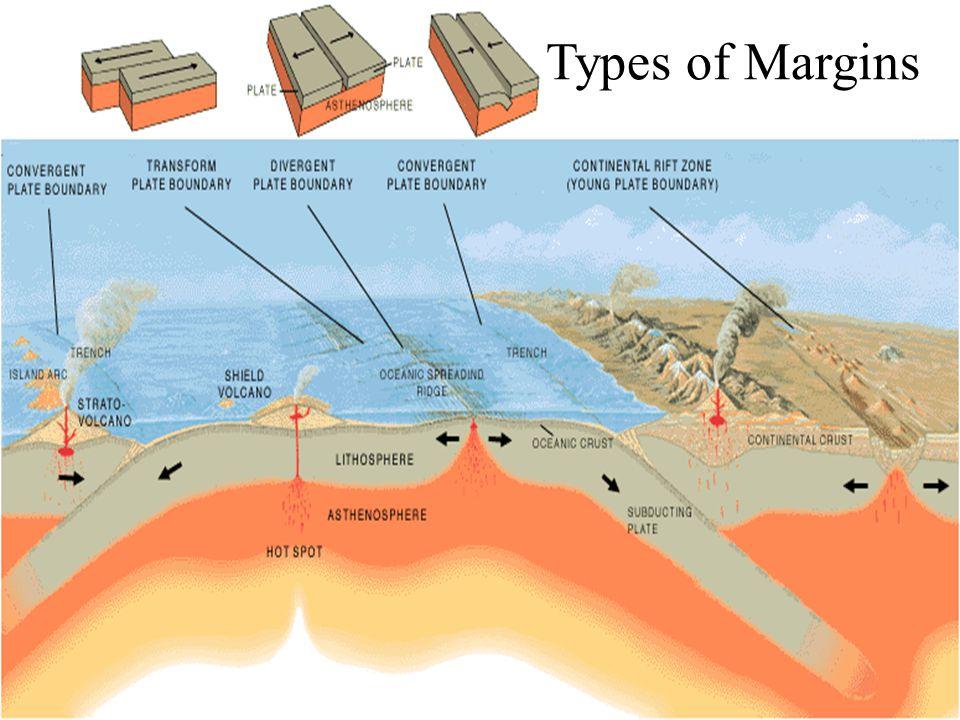 Types of Margins Types of margins