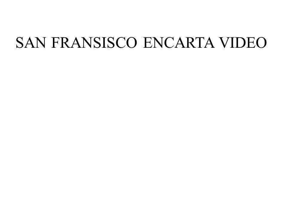SAN FRANSISCO ENCARTA VIDEO