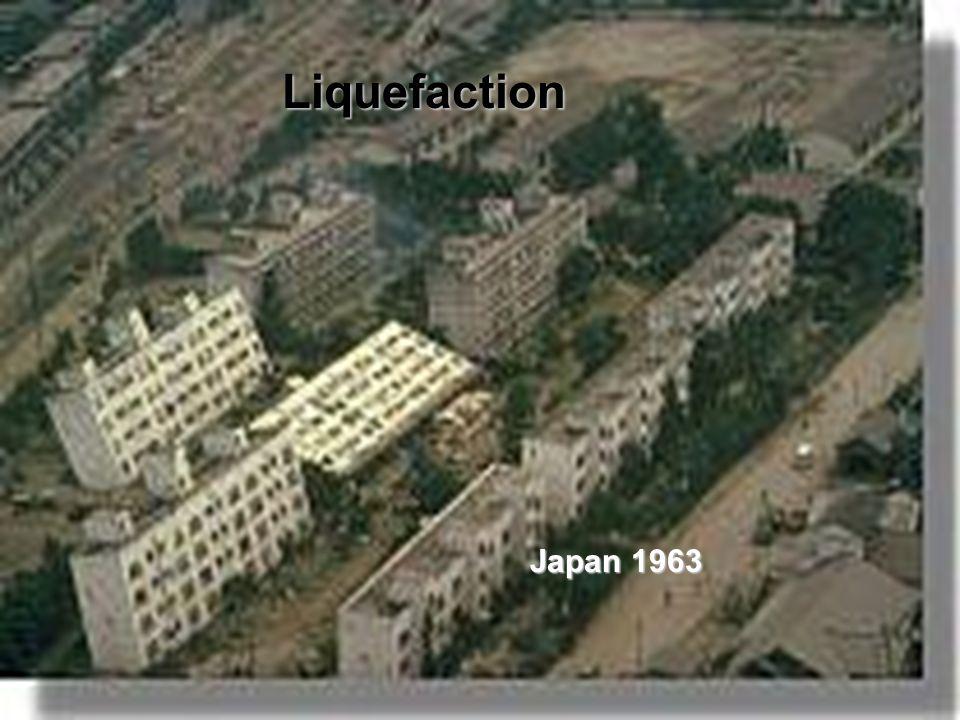 Liquefaction Japan 1963