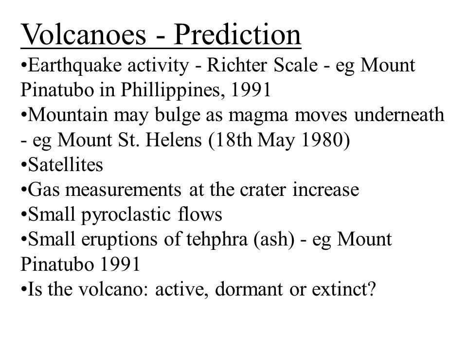 Volcanoes - Prediction