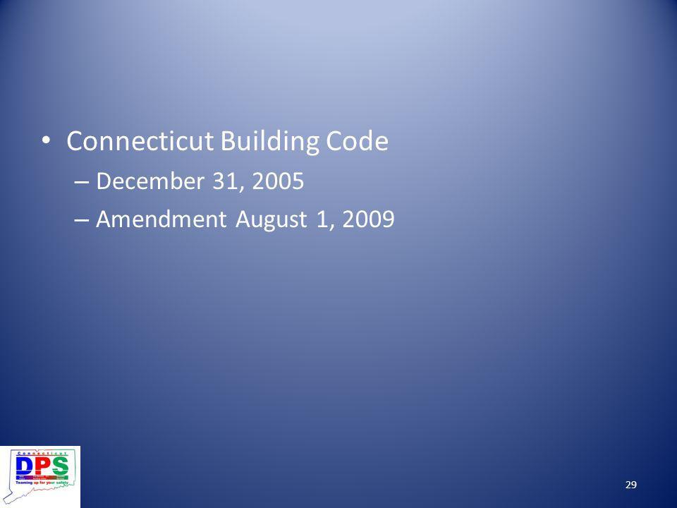Connecticut Building Code