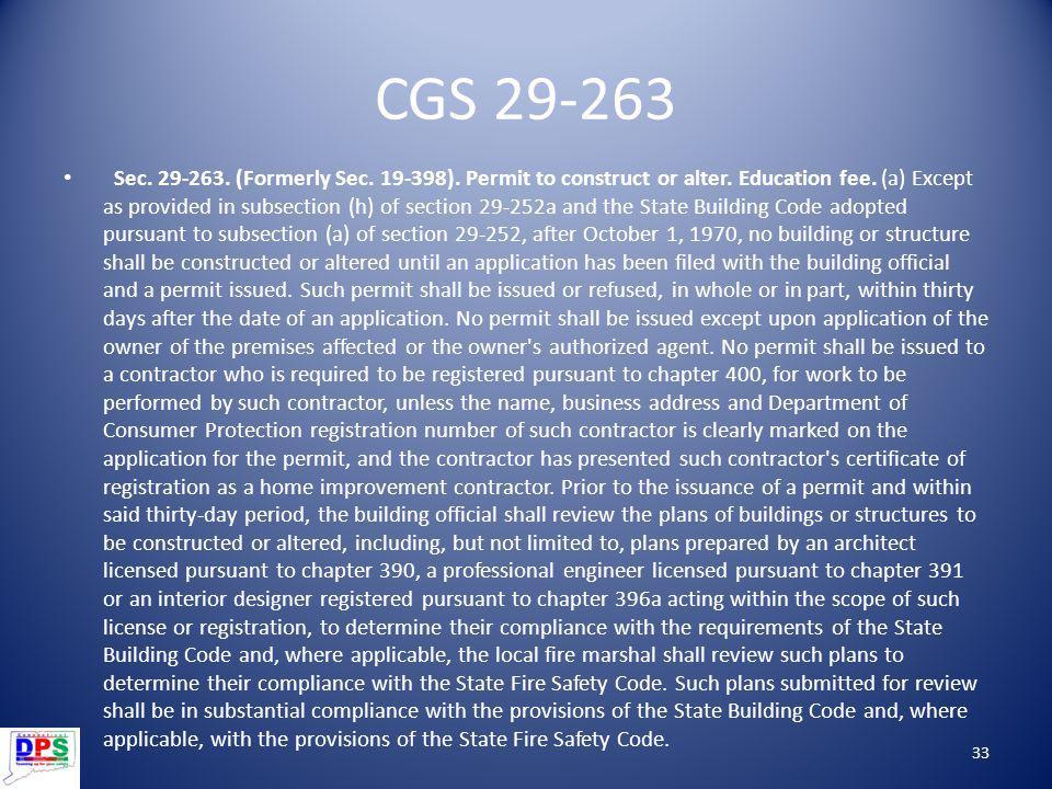 CGS 29-263