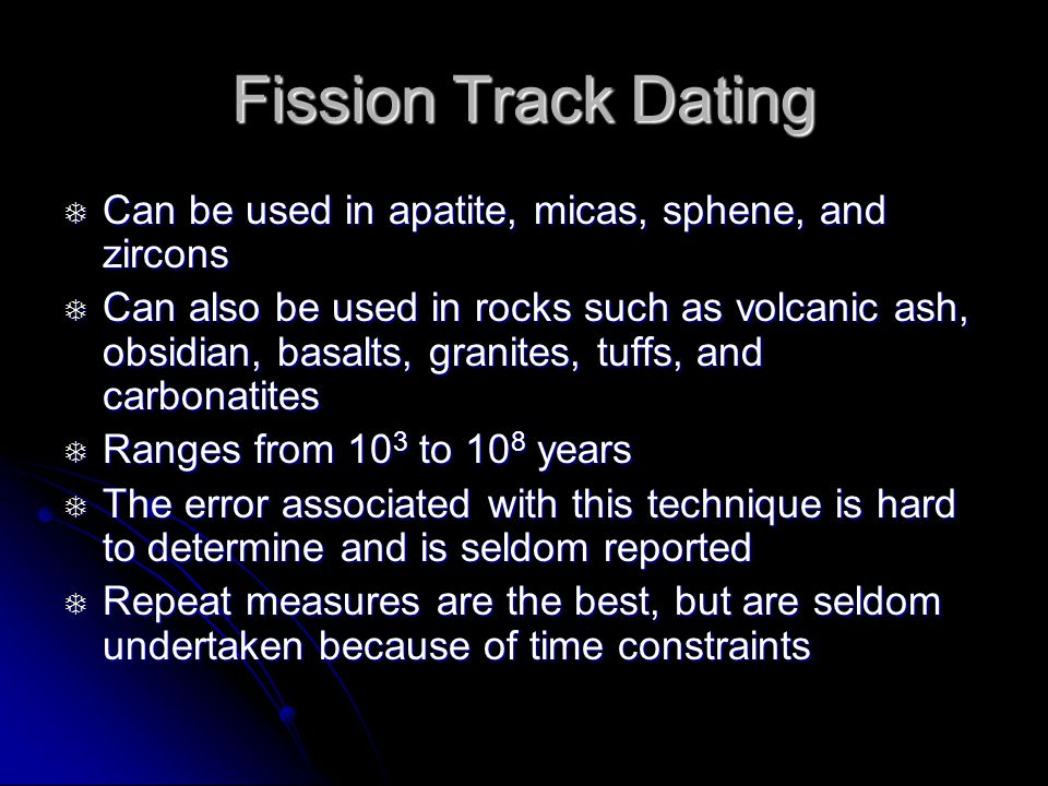 Fission track dating archaeology find