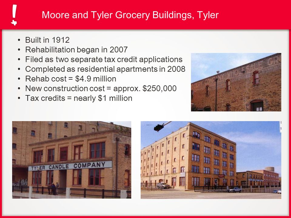 Moore and Tyler Grocery Buildings, Tyler