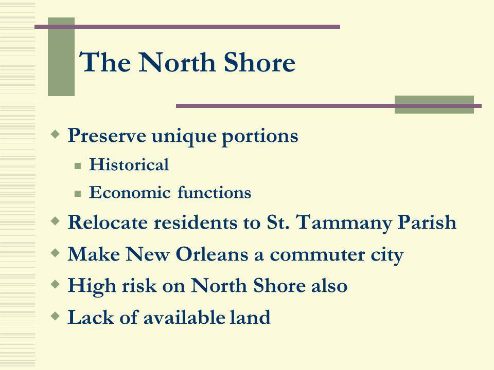 The North Shore Preserve unique portions