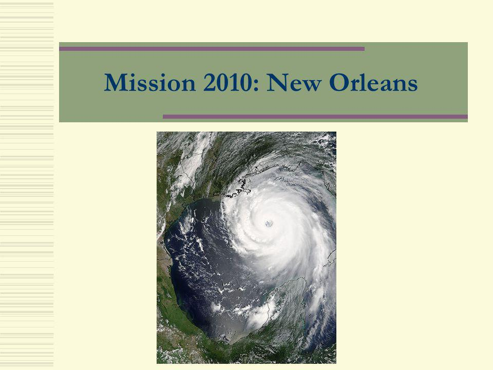 Mission 2010: New Orleans Intro: Debarshi and Bonnie