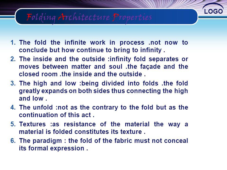 Folding Architecture Properties