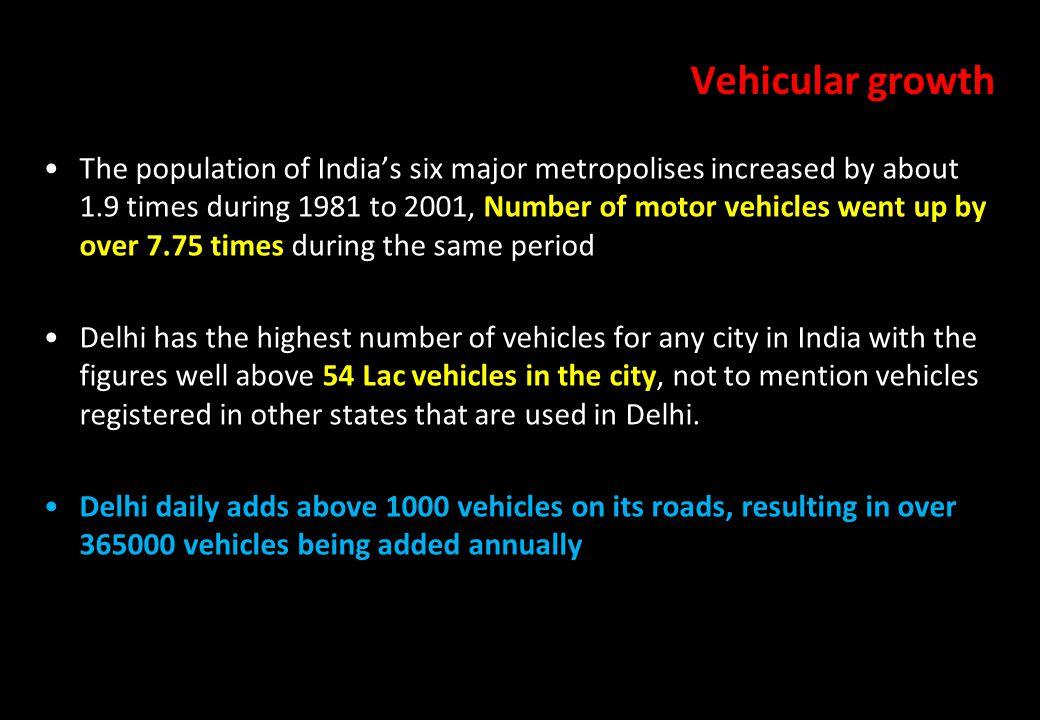 Vehicular growth