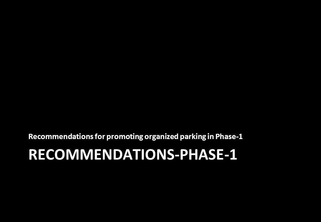 RECOMMENDATIONS-PHASE-1
