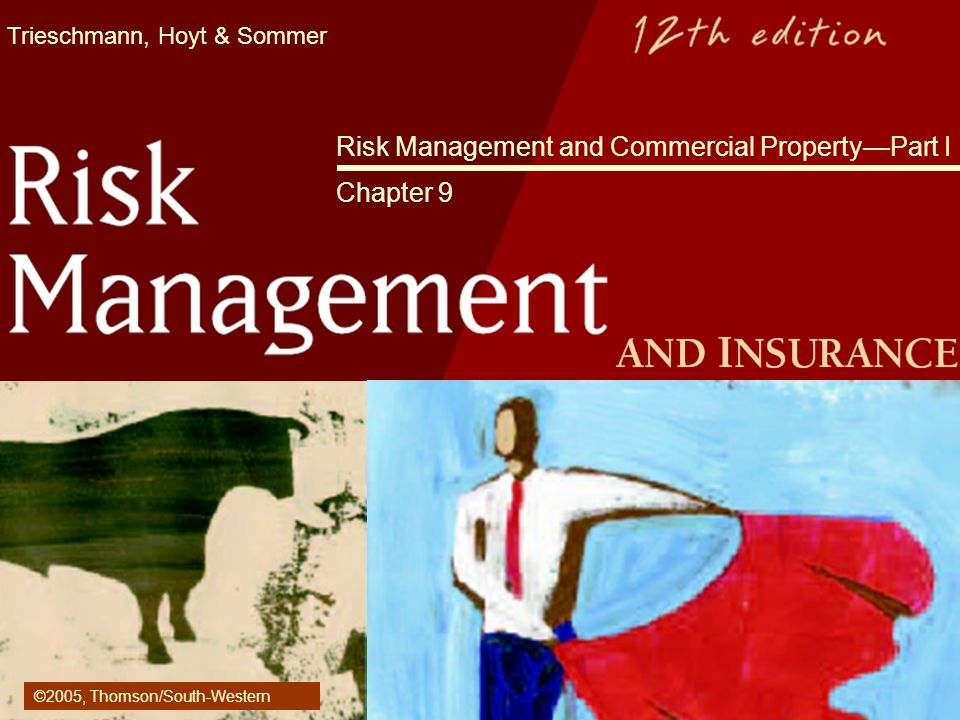 Risk Management And Commercial Property Part I Chapter 9 Ppt Video