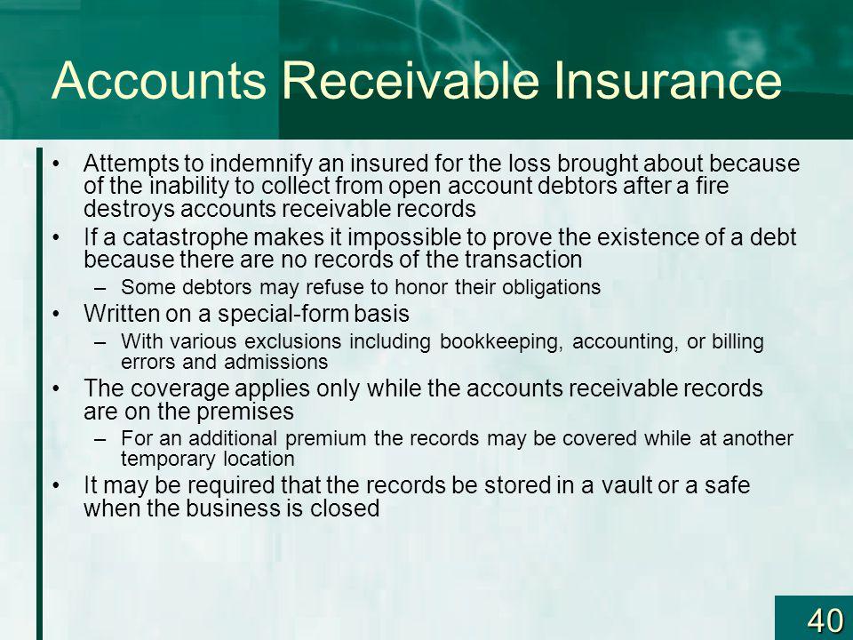 Accounts Receivable Insurance