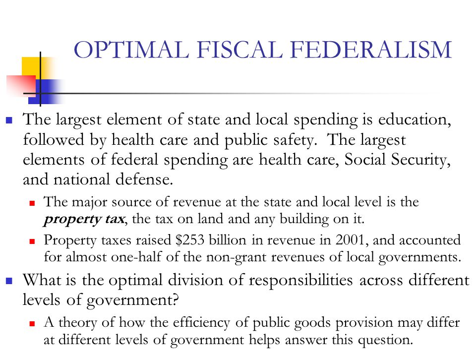 fiscal federalism and growth of local Key words: fiscal decentralization fiscal federalism public finance fiscal  policy  the central-local revenue sharing rate and the yearly growth rate of  local.