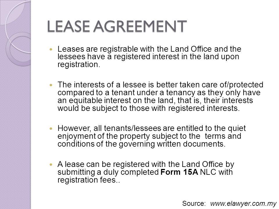 tenant online registration