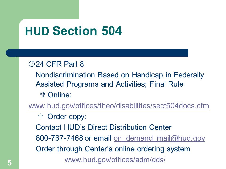 4/1/2017 HUD Section 504.