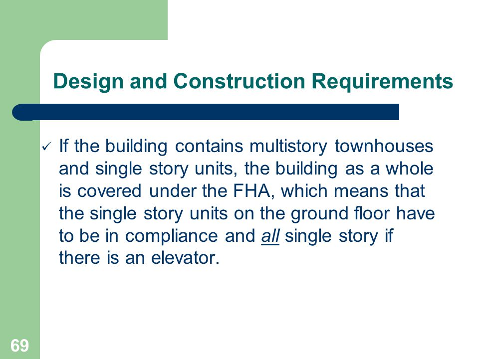 Design and Construction Requirements