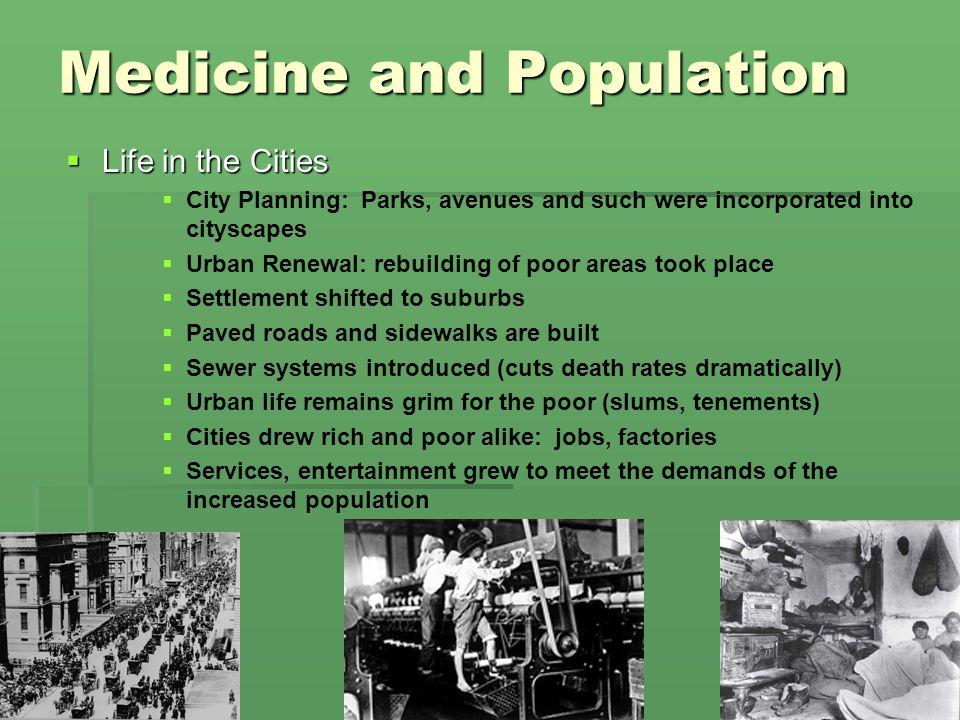 Medicine and Population