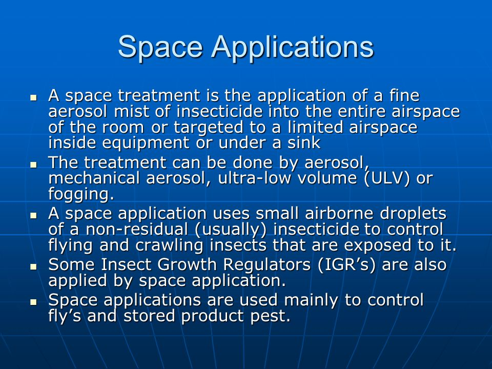 Space Applications
