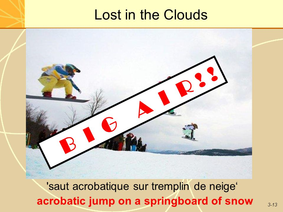 B I G A I R ! ! Lost in the Clouds