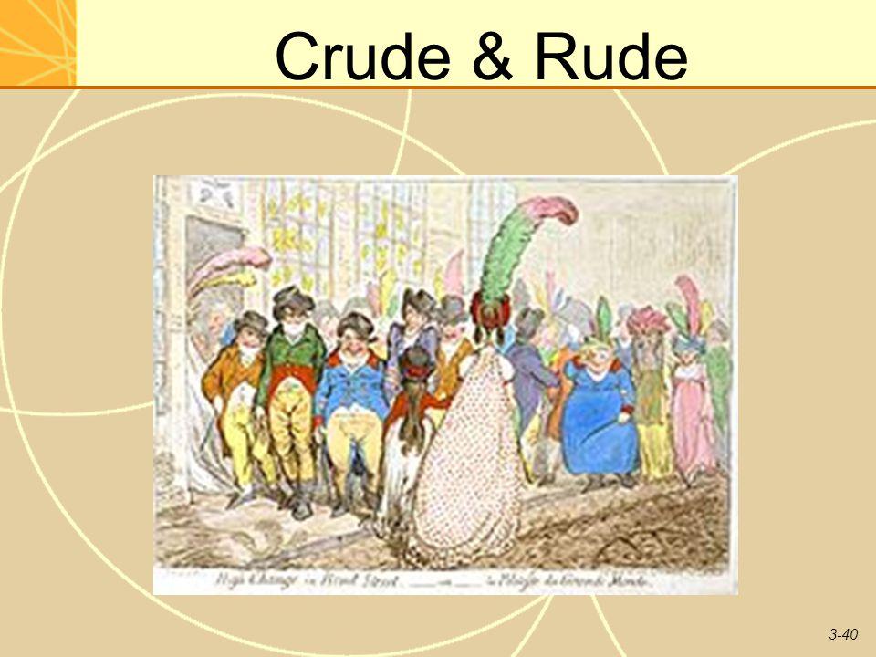 Crude & Rude