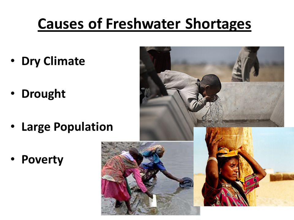 Causes of Freshwater Shortages
