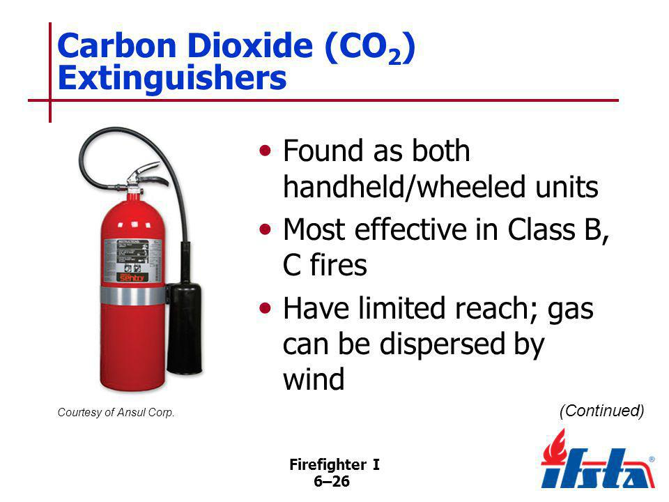 Carbon Dioxide (CO2) Extinguishers