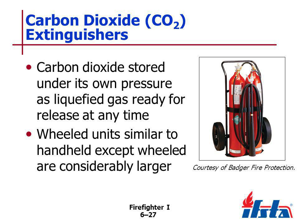 DISCUSSION QUESTION What is the danger of touching the horn on a carbon dioxide extinguisher shortly after it has been used