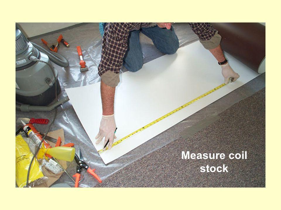 Measure coil stock
