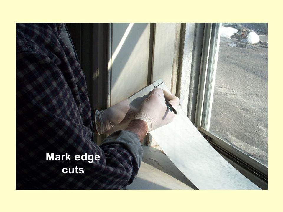 Mark edge cuts