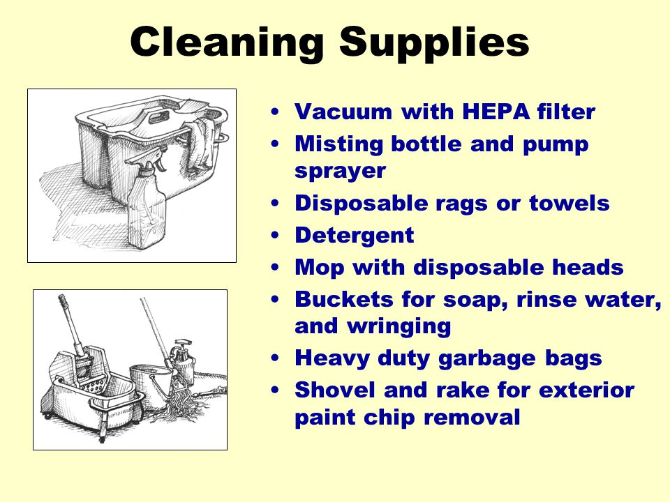 Cleaning Supplies Vacuum with HEPA filter
