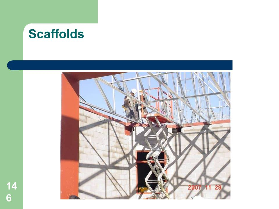 Scaffolds 9 stories