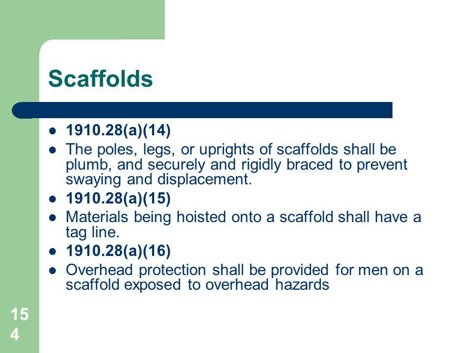 Scaffolds 1910.28(a)(14)
