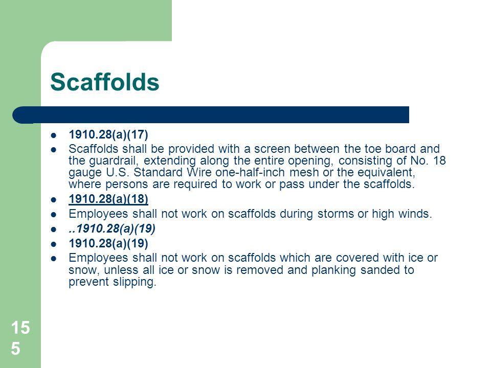 Scaffolds 1910.28(a)(17)