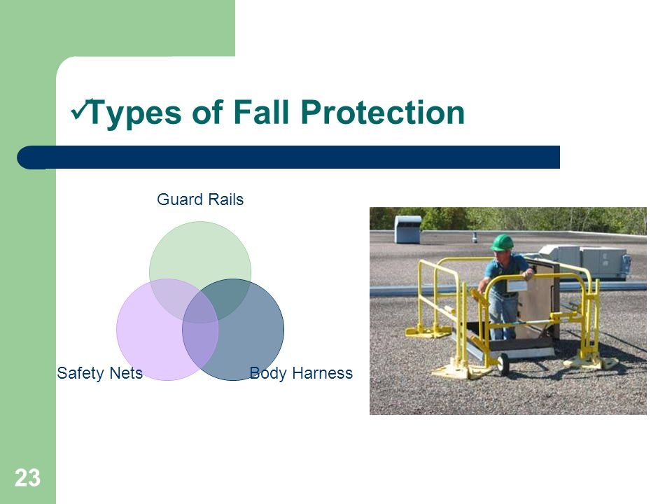 Types of Fall Protection