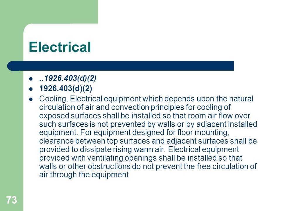 Electrical ..1926.403(d)(2) 1926.403(d)(2)