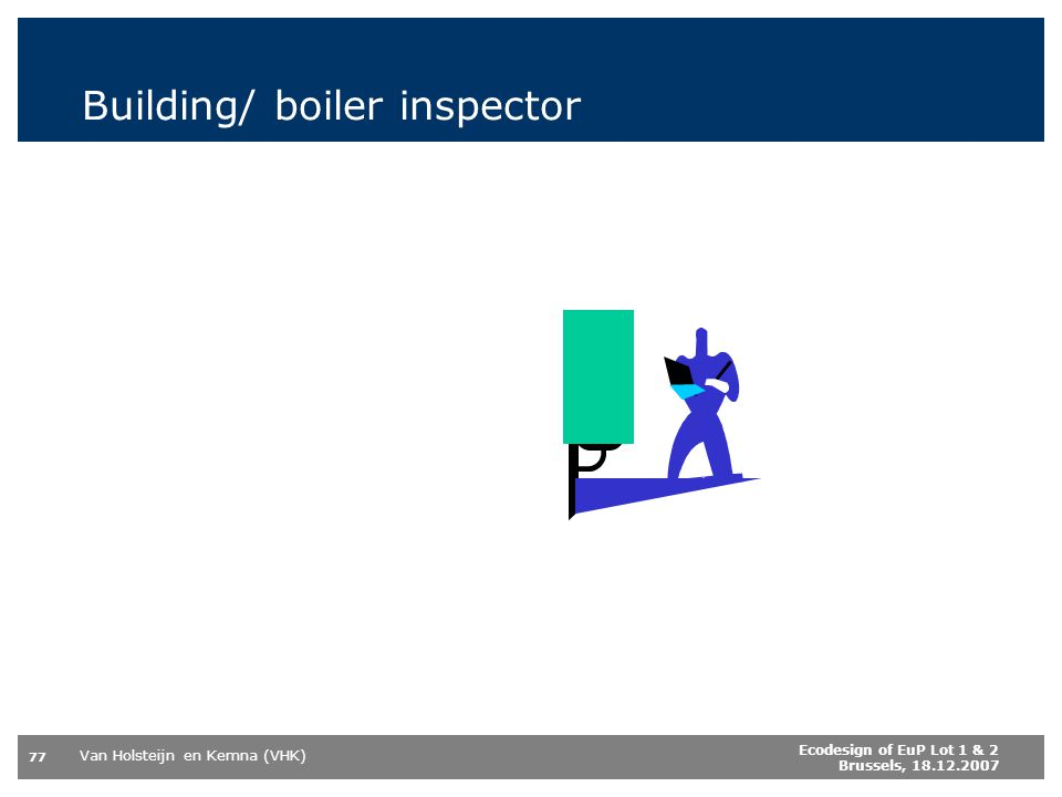Building/ boiler inspector