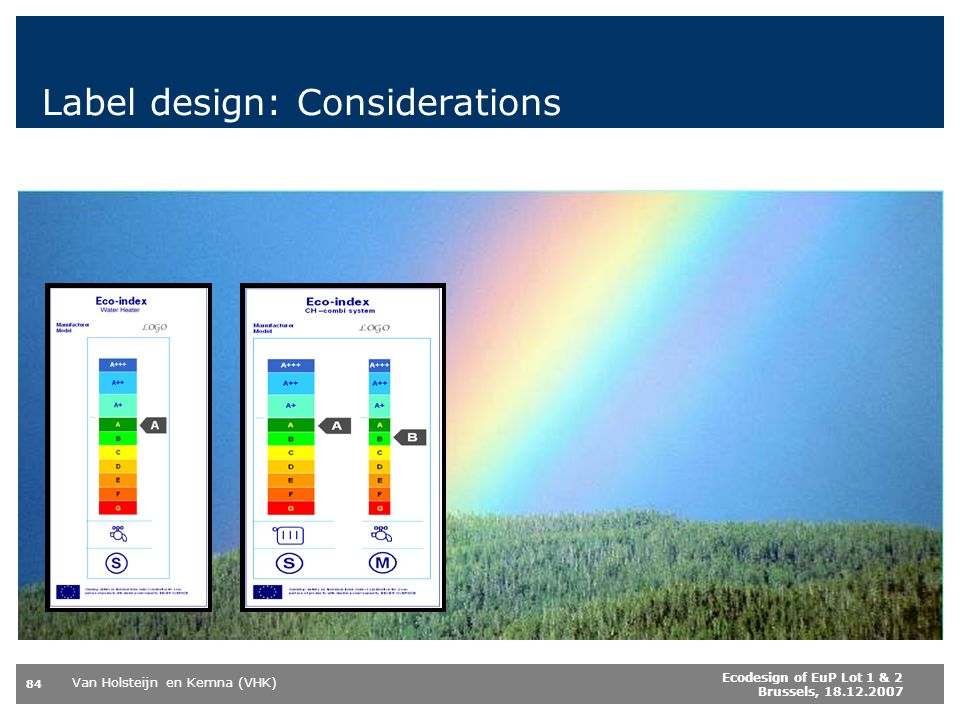 Label design: Considerations