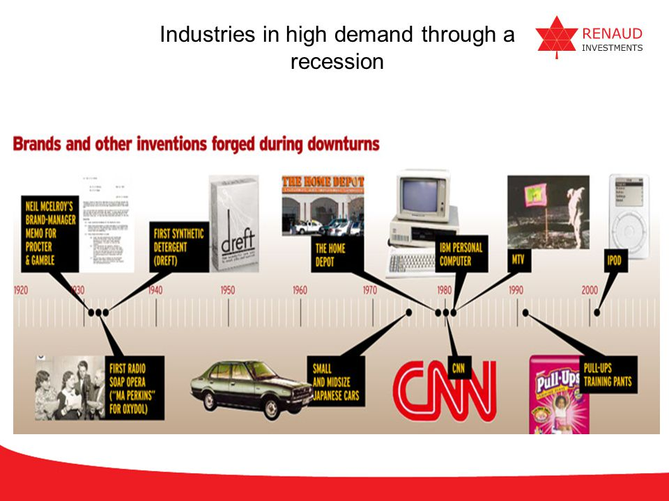 Industries in high demand through a recession