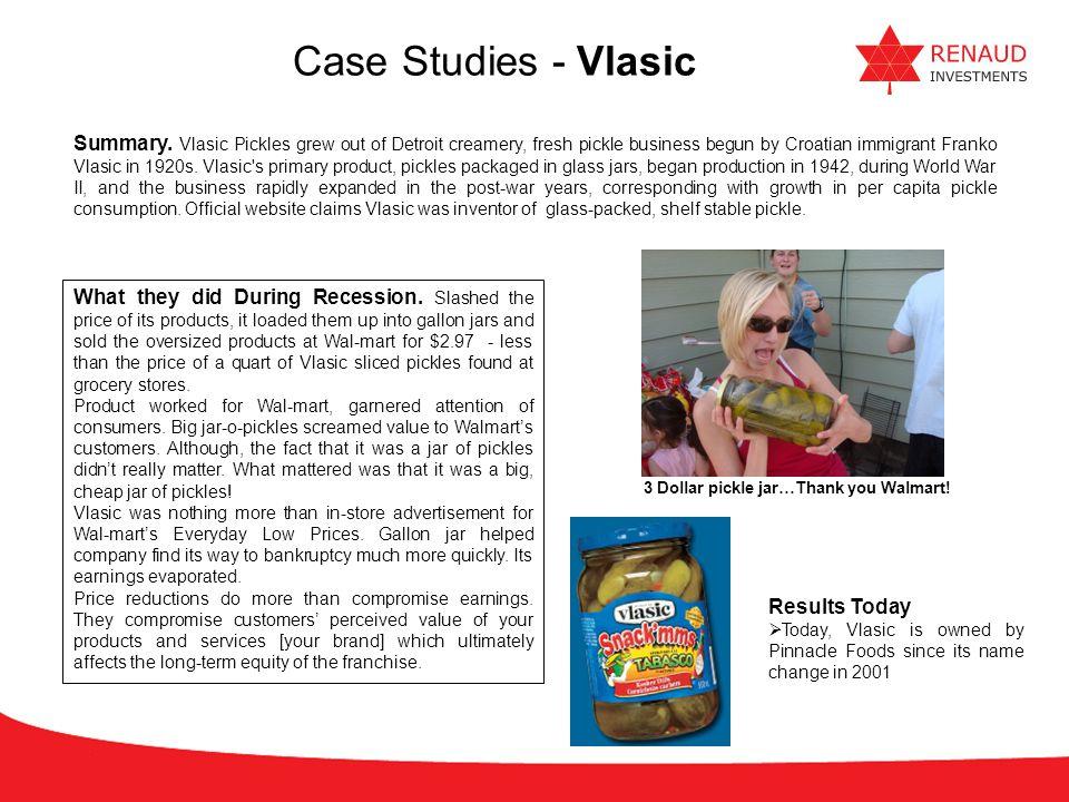 Case Studies - Vlasic