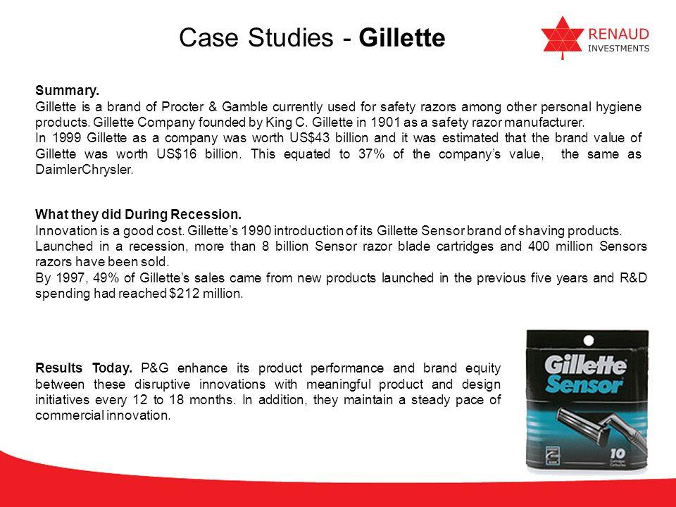 Case Studies - Gillette