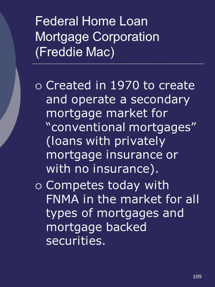Federal Home Loan Mortgage Corporation (Freddie Mac)