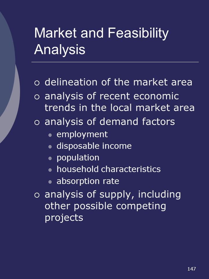 Market and Feasibility Analysis
