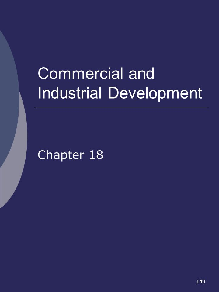 Commercial and Industrial Development