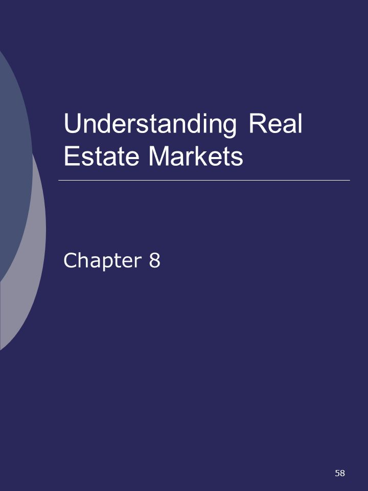 Understanding Real Estate Markets