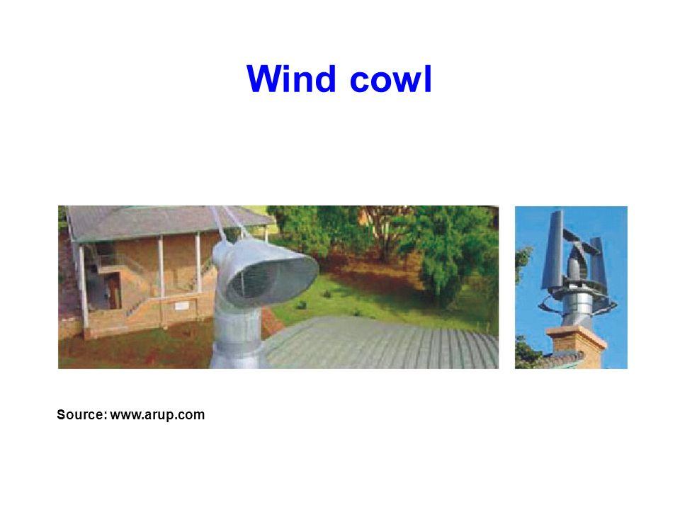 Wind cowl Source: www.arup.com